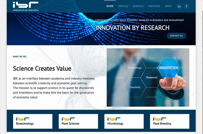 IBR-Consulting — Research & Development